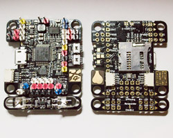SPRacingF3Mini PCB - Top and Bottom