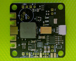 SPRacingF3OSD PCB - Bottom